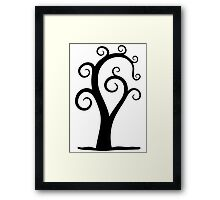 Nautilus Shell Tree Framed Print