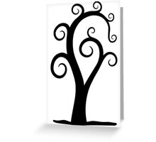 Nautilus Shell Tree Greeting Card