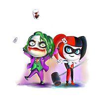 Harley and Joker by ArystaYC