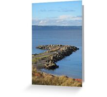 Brackett's Landing, Edmonds, Washington Greeting Card