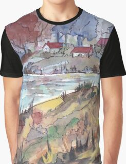 On the banks of the dam Graphic T-Shirt