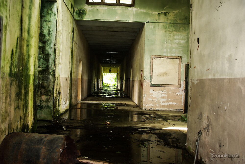 Hallway by OrionHarris