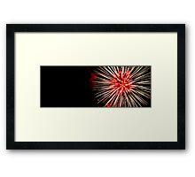 Firesky Framed Print
