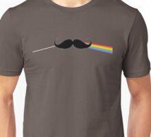 Dark Side of the Moustache Unisex T-Shirt