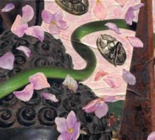 Hydrangea Petal Rain Under the Bodhi Tree Sticker