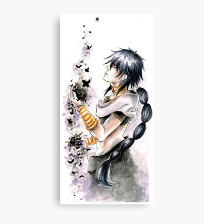 Judal - Magi the Labyrinth of Magic Canvas Print