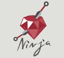 I'm a Ruby Ninja (Black) by pencilplus