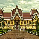 Pha That Luang - Vientiane by Austin Dean