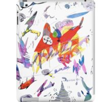 Pub Scene Graffiti  iPad Case/Skin