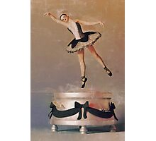 Music Box Ballet Dancer Photographic Print
