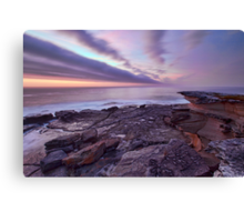 Looking South at Cape Banks, NSW Canvas Print