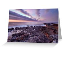Looking South at Cape Banks, NSW Greeting Card