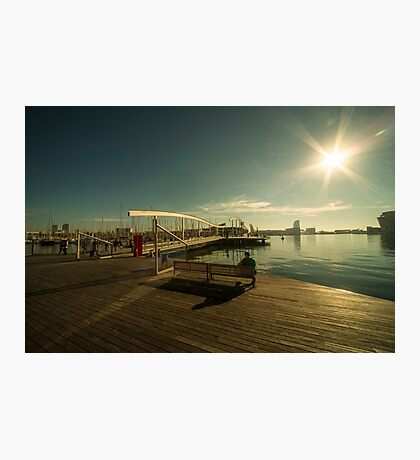 Barcelona Waterfront  Photographic Print