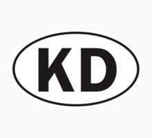 KD - Oval Identity Sign by Ovals