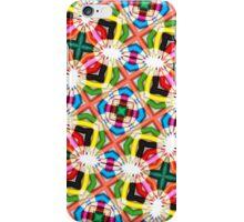 Colored Pencils Kaleidoscope  iPhone Case/Skin