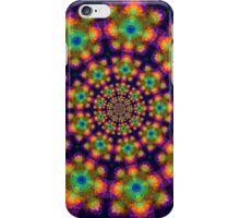 Colors on Purple Kaleidoscope iPhone Case/Skin