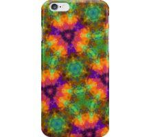 Green and Orange Kaleidoscope iPhone Case/Skin