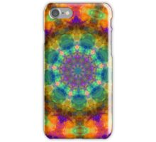 Neon Kaleidoscope iPhone Case/Skin