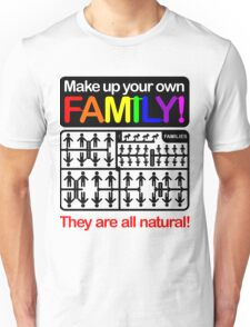 Make up your own family! Unisex T-Shirt