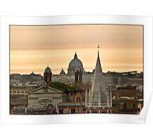 Roma - Vatican city Poster