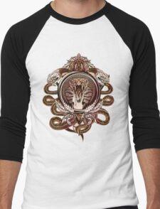 Snake Crest Men's Baseball ¾ T-Shirt
