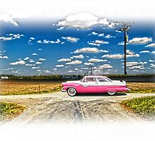 1955 FORD CROWN VICTORIA CROSSROADS IN LIFE by Randy & Kay Branham