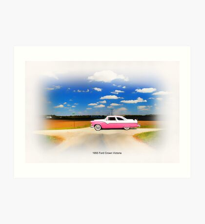 1955 Ford Crown Victoria SWEET Art Print