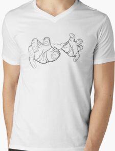 Horror Hands Mens V-Neck T-Shirt