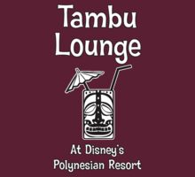 Tambu Lounge White Solid Tiki Glass by AngrySaint