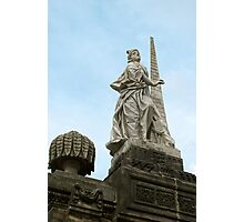 Statute of Fortidude in Bamberg Photographic Print