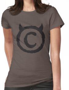ChrisSinn Logo Black Womens Fitted T-Shirt