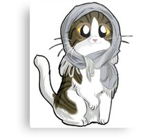 Kitty with scarf Metal Print