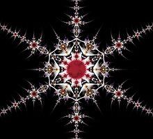 Solar Snowflake by Ross Hilbert