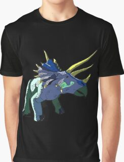 TRIKE AKA Triceratops Dinosaur Designs by Pitstop Head Graphic T-Shirt