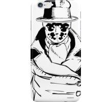 Rorschach from Watchmen Original Art iPhone Case/Skin