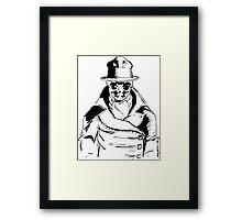 Rorschach from Watchmen Original Art Framed Print