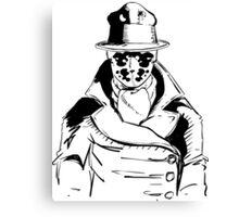 Rorschach from Watchmen Original Art Canvas Print