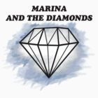 Marinas Diamond - White/Blue by Daenna