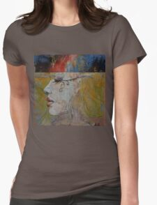 Queen Womens Fitted T-Shirt
