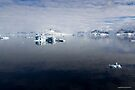 Reflecting on Antarctica 076 by Karl David Hill