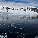 Reflecting on Antarctica 080 by Karl David Hill