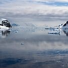 Reflecting on Antarctica 082 by Karl David Hill