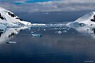 Reflecting on Antarctica 084 by Karl David Hill