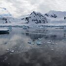 Reflecting on Antarctica 085 by Karl David Hill
