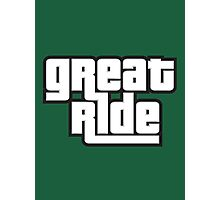 great ride Photographic Print