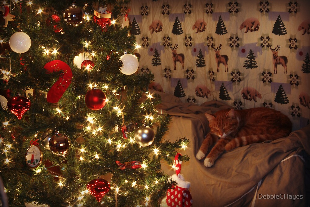 Merry Christmas Kitty by DebbieCHayes