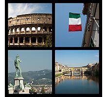 Italian icons Photographic Print