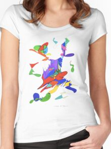 Letters Of Meaning   Women's Fitted Scoop T-Shirt