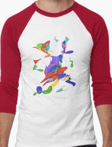 Letters Of Meaning   Men's Baseball ¾ T-Shirt