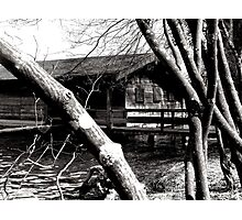 Mysterious Boathouse Photographic Print